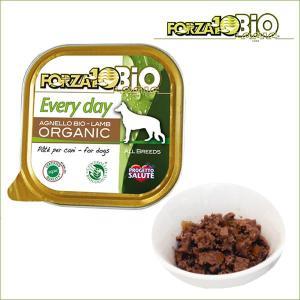 フォルツァディエチ FORZA10 エブリディ ビオ ラム 100g×1缶 世界認証のオーガニック有機食フォルツァ10|dog-k9