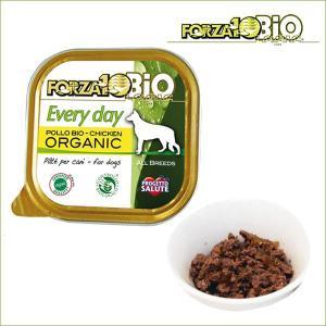 FORZA10 フォルツァディエチ エブリディ ビオ チキン 1ケース100g×12缶 界認証のオーガニック有機食フォルツァ10|dog-k9