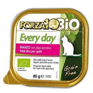 FORZA10 フォルツァディエチ エブリディ ビオ ビーフ 85g×1缶 キャットフード フォルツァ10 猫 フォルツァディエチ dog-k9