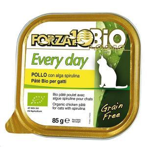 フォルツァディエチ FORZA10 エブリディ ビオ チキン 1ケース85g×12缶 キャットフード フォルツァ10 猫 フォルツァディエチ dog-k9