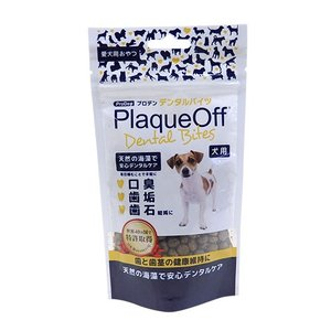プロデン デンタルバイツ 犬用 60g 特許取得 天然海藻成分 安心 デンタルケア|dog-k9