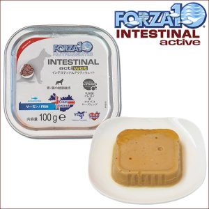FORZA10 インテスティナルアクティブウェット 胃腸ケア療法食 100g×1缶 フォルツァ10 フォルツァディエチ|dog-k9