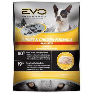 成犬用 穀物不使用 ドッグフード エボ ターキー&チキン 1kg 正規品|dog-sagara