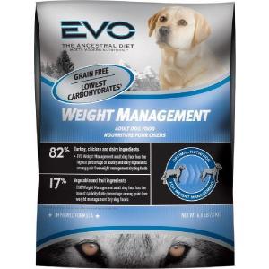 肥満犬 ダイエット用 穀物不使用ドッグフード エボ ウェイトマネジメント  6kg 正規品|dog-sagara