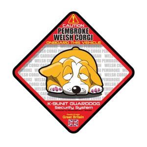 犬ステッカー:コーギーペンブロークONBOARDステッカー|dogandsurfdesign