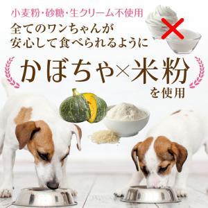 犬用 無添加・クッキー(名入れ カボチャのクッキー)犬の誕生日のケーキ・クリスマスケーキと一緒にどうぞ|dogdiner|04