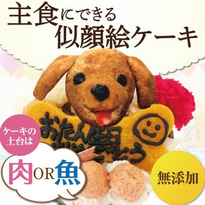 犬 ケーキ(無添加 誕生日ケーキ)似顔絵 犬用ケーキバースデー・クリスマスケーキ・誕生日のギフトに|dogdiner|19
