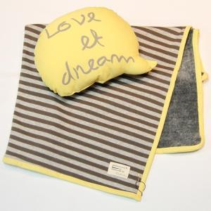 【Monchouchou】LOVE et DREAM(ブランケット) doggies-kobe