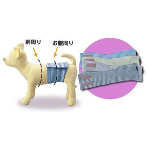 FIELDPOINT 消臭マナーベルト ブラウン 2号|doggoods-petdrug