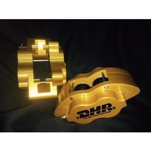 DHR Bespoke 4 pot キャリパー STD加工済みパッド セット|doghouse-dhr