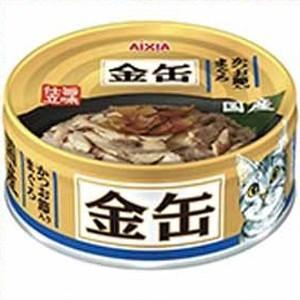 金缶ミニ かつお節入りまぐろ 70g(クーポン配布中)|dogparadise