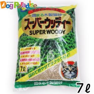 (1回のご注文6個まで)常陸化工 スーパーウッディー 7L|dogparadise