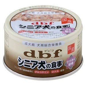 デビフ dbf シニア犬の食事 ささみ&軟骨 85g(犬用缶詰/ドッグフード)|dogparadise