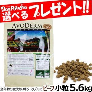 アボダーム ドッグフード オリジナルビーフ 小粒 5.6kg(期間限定特価)スキン&コート 皮膚被毛ケア|dogparadise