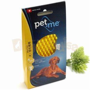ペットアンドミー ラバーブラシ 犬用・短毛種用