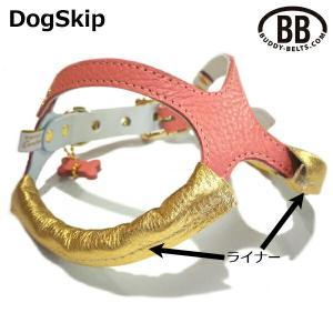 バディーベルト専用ライナー・ゴールド1、2、2.5、3、3.5号用 BUDDY BELT BUDDYBELT 犬 犬用 ペット ドッグ バディーベルト|dogskip
