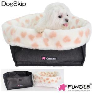 犬用 猫用 エンジェルハートベッド ファンドルベッド カドラー 小型犬 FUNDLE angel heart fur basket room|dogskip