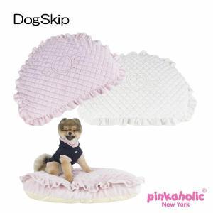 エンジェルクッションベッド ANGEL CUSHION PINKAHOLIC NEW YORK ピンカホリックニューヨーク 犬用 カドラー ペット|dogskip
