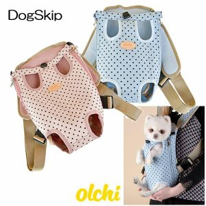 犬用 ドットフロントキャリーバッグ Lサイズ Olchi Dot Frontbag Olchi オルチ ペット ドッグ|dogskip