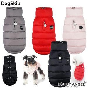 犬用 PAダブルボタンパデッドベストジャンパー S,SM,M,ML,L,XLサイズ パピーエンジェル 洋服 ドッグウェア 小型犬 犬 Puppy An|dogskip
