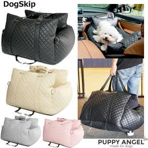 犬用 車用 車載 PAスリーウェイオールPUカーシートセット Mサイズ パピーエンジェル 犬 Puppy Angel(R) 3Way All PU C|dogskip