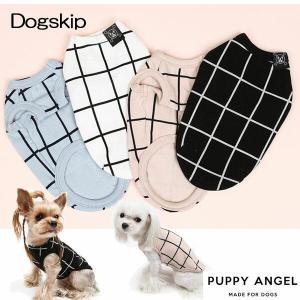 犬用PAネオスリーブレスTシャツ:S,SM,M,ML,L,XLサイズ パピーエンジェル PUPPYANGEL ペット用 ドッグ|dogskip