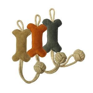 犬用 引っ張り おもちゃ ボーンタグトイ TUG TOY (BONE) PUPPIA パピア dogskip