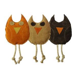 犬用 引っ張り おもちゃ オウルタグトイ TUG TOY (OWL) PUPPIA パピア dogskip