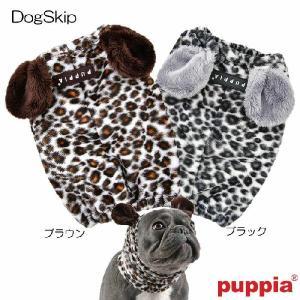 犬用 レオパードスヌード:S,M,Lサイズ LEONARD SNOOD PUPPIA パピア ペット ドッグ|dogskip