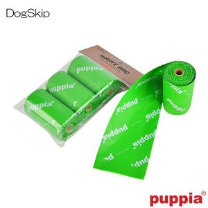 犬用 エコフレンドリーロール ウンチ袋 ECO FRIENDLY WASTE BAG REFILL ROLLS(3P) PUPPIA パピア ペット dogskip
