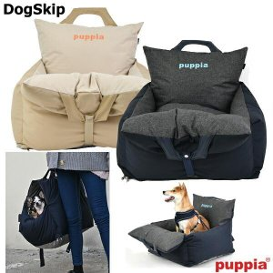 犬用 プレミアムキャリアーカーシート 車用 車載用 Premium Carrier Car Seat パピア puppia ペット ドッグ dogskip