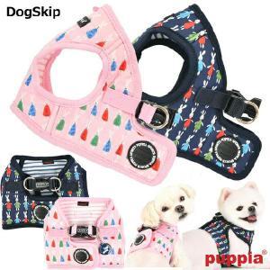 犬用 胴輪 モーリーハーネスB:S,M,Lサイズ MOLLIE HARNESS B PUPPIA パピア ペット ドッグ|dogskip