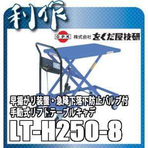 をくだ屋技研 リフトテーブルキャデ LT-H250-8|doguya-risaku