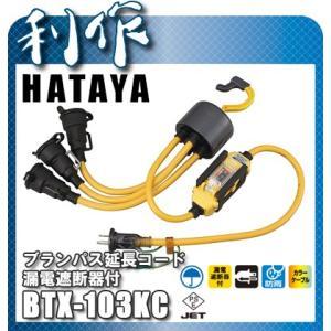 【ハタヤ】 ブランパス延長コード [ BTX-013KC ]  漏電遮断器付|doguya-risaku