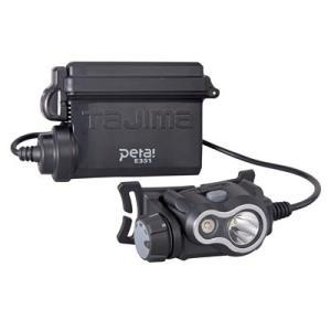 タジマ ペタLEDヘッドライトE351セット シルバー [ LE-E351-SPS ]|doguya-risaku