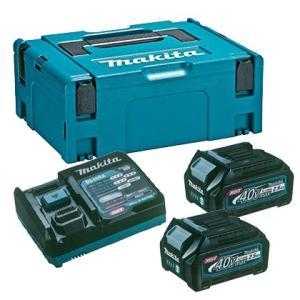 マキタ パワーソースキットXGT1 [ A-69727 ] 充電器+バッテリ2個+パックタイプ2|doguya-risaku