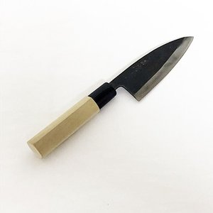 甚作 刀匠作 入魂古式鍛造 アジ切包丁 120mm  | 包丁 庖丁|doguya-risaku