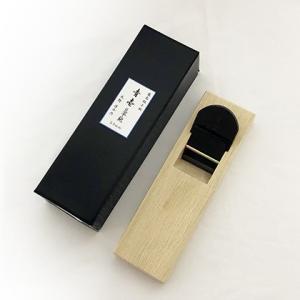 水野清介作 豆平鉋 青壱 54mm 青紙一号 / 白樫台 | 越後与板 伝統工芸士 | カンナ かんな|doguya-risaku