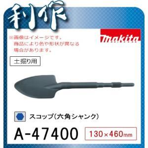 マキタ スコップ(六角シャンク) [ A-47400 ] 130×460mm / 土掘り用|doguya-risaku