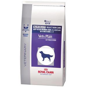 SALE ロイヤルカナン ベッツプラン 犬用 準療法食 セレクトスキンケア 3kg