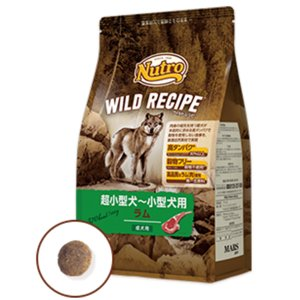 ニュートロ ワイルドレシピ 超小型〜小型犬用 ラム ドライ 4kg