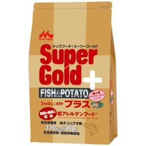森乳サンワールド  スーパーゴールド フィッシュ&ポテト プラス 関節ケア用 低アレルゲン 800g