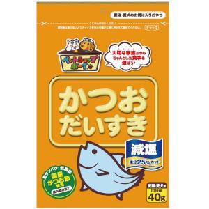 マルトモ 減塩 かつおだいすき 犬猫用 40g