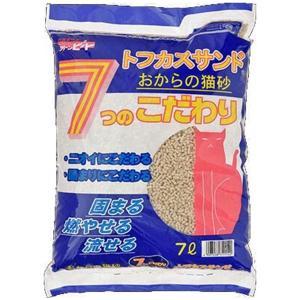 ペグテック トフカスサンド 7L×4[猫砂ケース販売][送料無料][同梱不可]|ドッグワールド