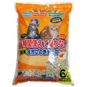ペットプロ 天然ひのきチップ 6L 【猫砂】