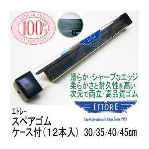 エトレー スクイジースペアゴムケース付(12本入) 45cm|doiken