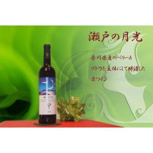 地酒を使ったワインボトル彫刻 瀬戸の月光|doikoubou|02