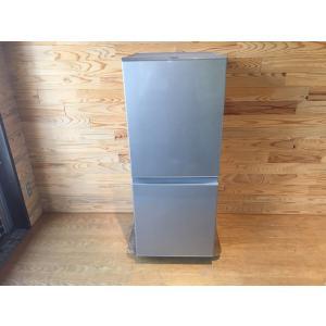 【中古】◎2019年製/AQUA/冷凍冷蔵庫/AQR-13H(S)/126L/冷凍46L/冷蔵80L...