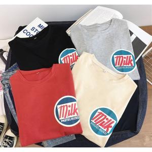 韓国ファッション 半袖 Tシャツ レディース オルチャン 原宿系 春夏