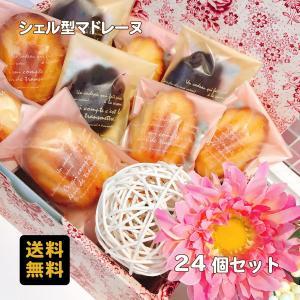 ギフト 送料無料 シェル型マドレーヌ24個(常温便) dolcediroccacarino